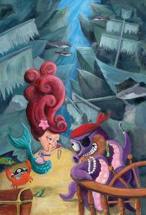 Mermaid and Pirates by Monika Suska