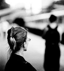 Waiting for the train by Bartosz Jakubiec