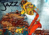 Jazz Poster by azuldecobalt