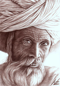 Old Indian Man von Nicole Zeug