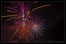 Feuerwerk-gross