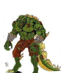 Titan Croc by Will  Burton