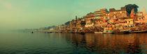 Ganges in Varanasi von Baciu Cristian