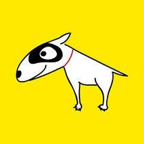 Bull Terrier by Monika Beitlova