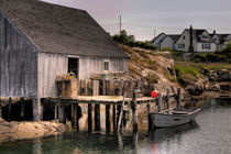 Fishing Shack by Susan Isakson