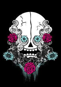 Aztec Skull by Geo Law
