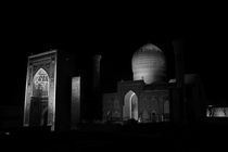 Samarkand Mosque  by Mikael Sacchi