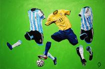 Brasil vs Argentina by betirri
