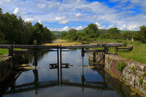 Ulverston Canal, Remains of the Lock Gates by Louise Heusinkveld