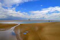 The Sands of Morecambe Bay by Louise Heusinkveld