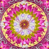 Floral Mandala by regalrebeldesigns
