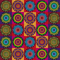 Mini-Mandalas by regalrebeldesigns