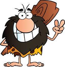 Happy Caveman von hittoon