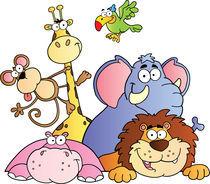 Jungle Animals von hittoon