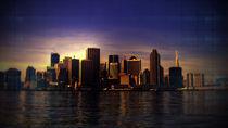 City Sunset by Simon Nyström