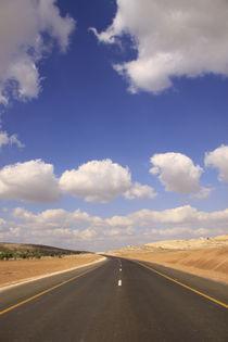 Israel, Road 358 in the desert by Hanan Isachar
