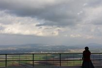 The view of Jezreel valley from Mount Carmel by Hanan Isachar