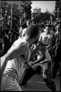 Capoeira (IV). Madrid, 2011. by Maria Luros