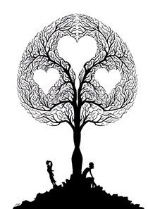 Tree of love by Luis Pastor