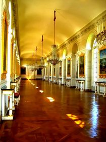 Corridor, the Grand Trianon by Mirela Oprea