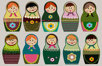 cute rusian dolls  by meri-misljen