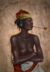 'Fatuma' by Ashley Luttrell