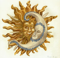 Sun and moon   by Francesca Zambon