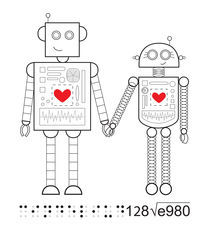 LoveBots by Cindel Oh