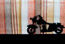 Harley Davidson Toy Silhoutte by Vivek Hegde