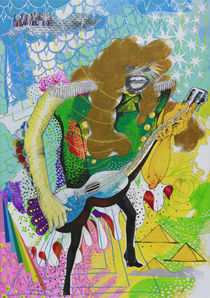 Guitarist by Yoh Nagao