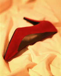 Red High Heel by Greg Wright