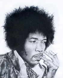 Jimi Hendrix von John Lanthier