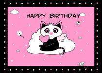 Kitten-birthdaycake