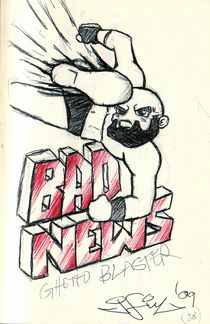 Bad News Delivery von John Siy