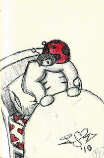 Lady Bug by John Siy