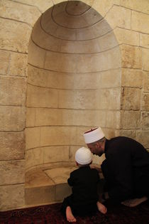 Israel, Nabi Shueib, the sacred site of the Druze von Hanan Isachar