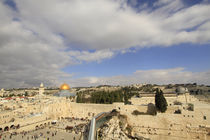 Jerusalem Old City, a view of Temple Mount by Hanan Isachar
