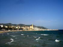 Sitges, near Barcelona by Mirela Oprea