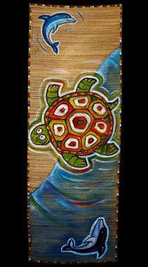 Yin Yang Turtle by Max Grishkan