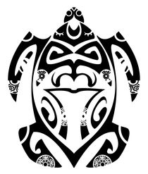 Maori turtle von William Rossin