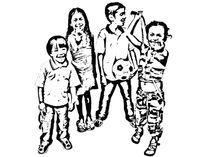Family-stencil