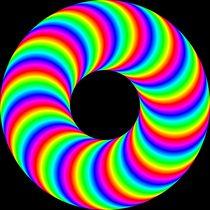 rainbow donut by Chandler Klebs