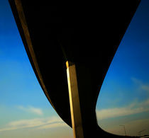Freeway Overpass I by Bryan Dechter