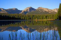 Lake Bierstadt by Colorado Images