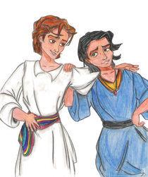 Jesus y Joaquín von Laura Megías