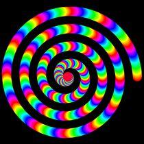 rainbow spiral by Chandler Klebs
