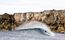 Die Welle von Turtle Head Island auf den Philippinen von Andy Fox