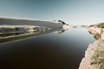 Mondähnliche Sandlandschaften bei Port Gregory in Westaustralien von Andy Fox