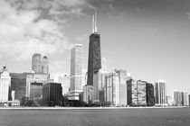 Chicago in B/W by Milena Ilieva
