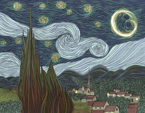 Starry Night von Justin McElroy